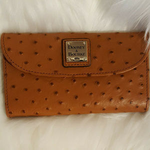 NWT Dooney & Bourke Ostrich Leather
